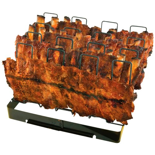Mr. Bar-B-Q Premium Grilling Toppers Nonstick Rib Rack