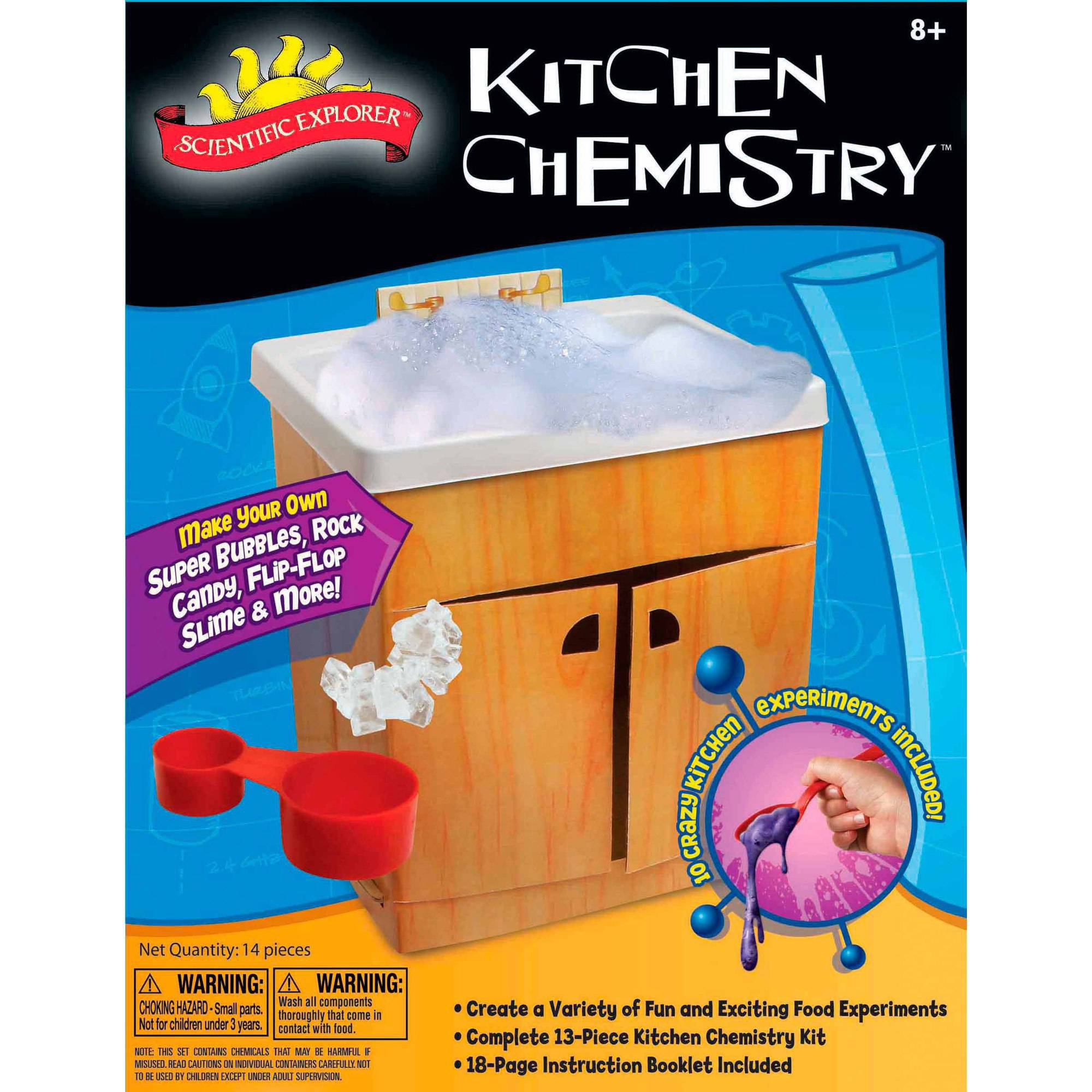 Scientific Explorer Kitchen Chemistry Kit