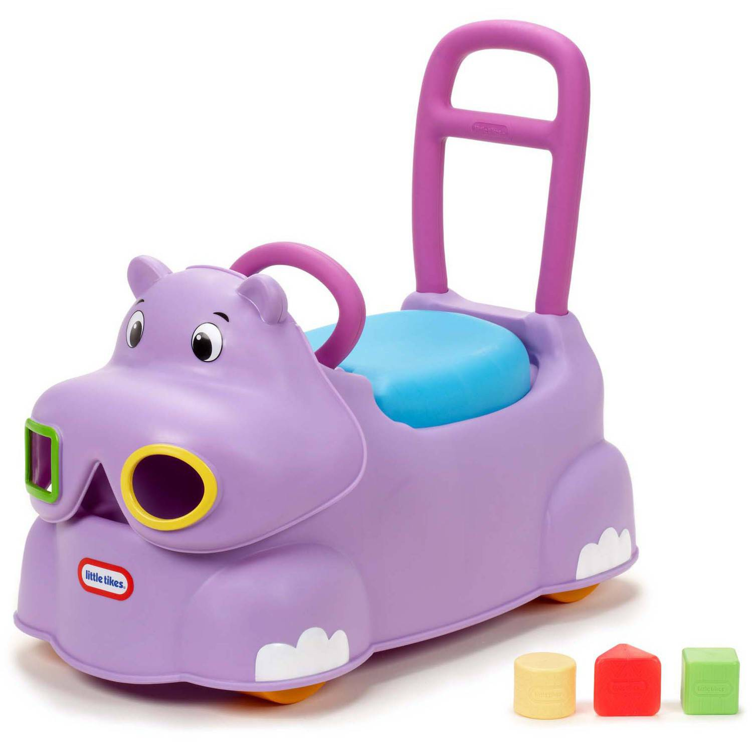 Little Tikes Scoot-Around Animal Riding Toy, Hippo