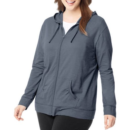 27c71e32963 Just My Size - Just My Size Women s Plus-Size Slub Jersey Hoodie -  Walmart.com