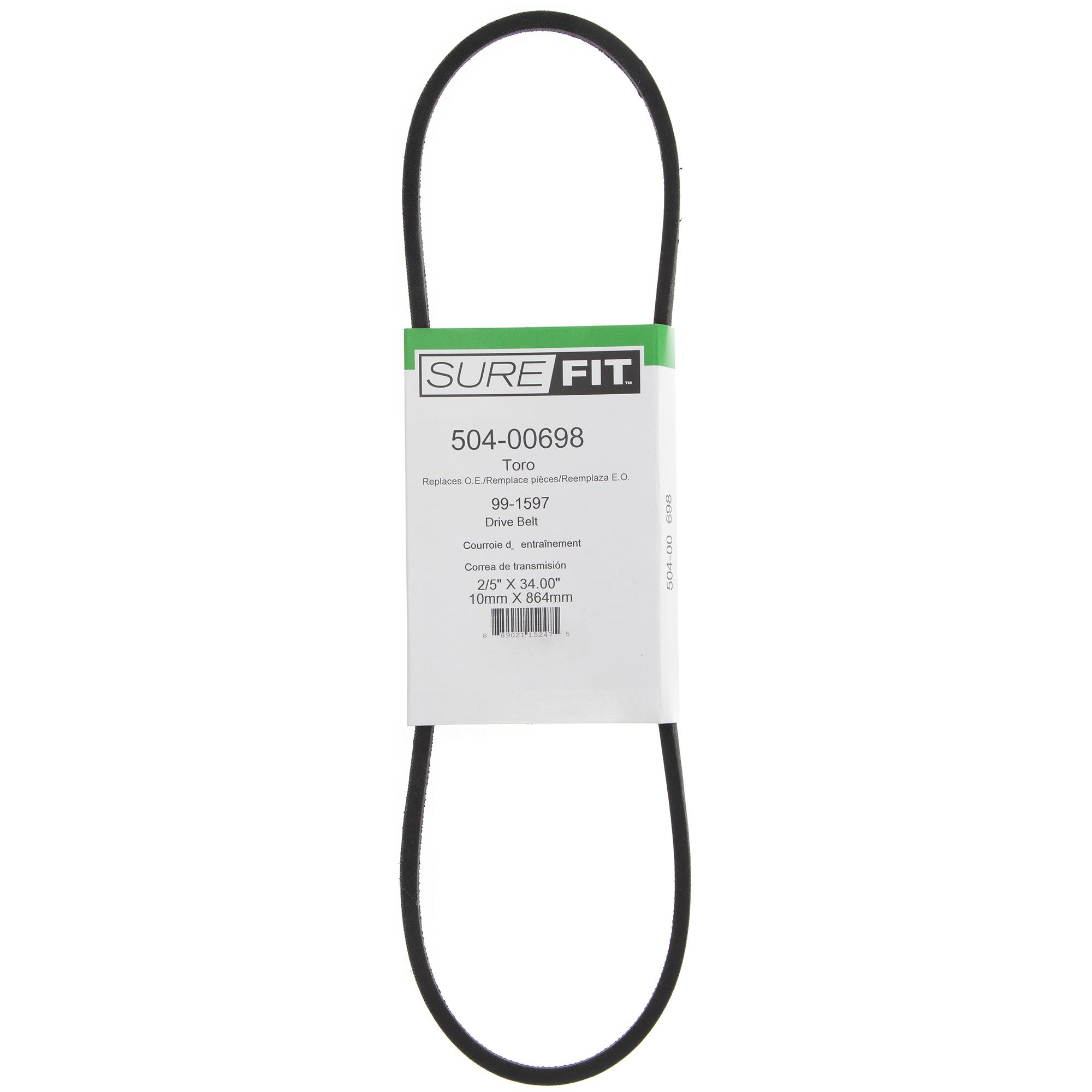SureFit PTO Drive Belt for Ariens 07237900 Gravely Zoom ZT 1634 1840 2040 2450