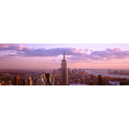 Aerial view of a city Rockefeller Center Midtown Manhattan Manhattan New York City New York State USA Poster Print](Halloween Usa Midtown)