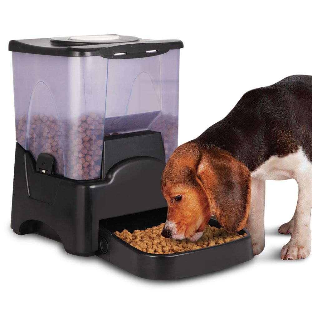 Yaheetech 10.6L Capacity Automatic Dog Feeder for Large t...