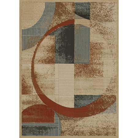 Concord Global Trading Soho Collection Shapes Area Rug