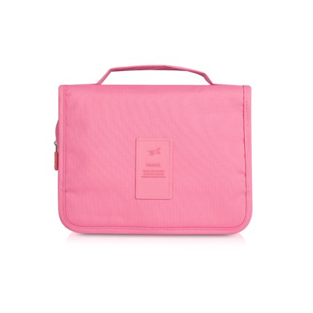 a53938d0d80 Plambag Waterproof Portable Hanging Travel Toiletry Organizer Bag Bathroom  Cosmetic Bag Shaving Kit - Walmart.com