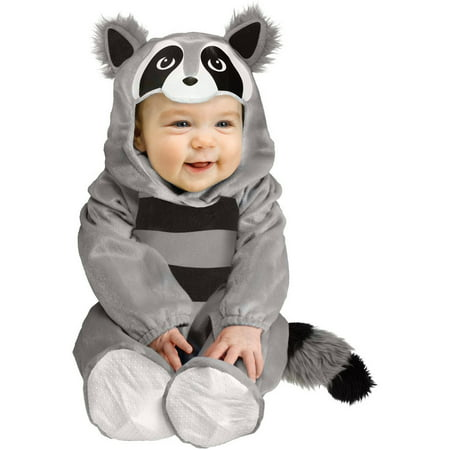 Baby Raccoon Infant Halloween Costume, 6-12 Months - Outrageous Baby Halloween Costumes