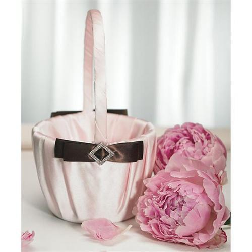 Weddingstar 7152 Chocolate & Strawberry Cream Flower Girl Basket