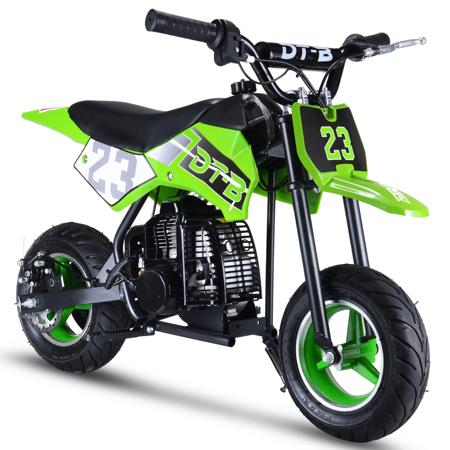 51CC 2-Stroke Kids Dirt Off Road Gas Power Mini Dirt Bike,