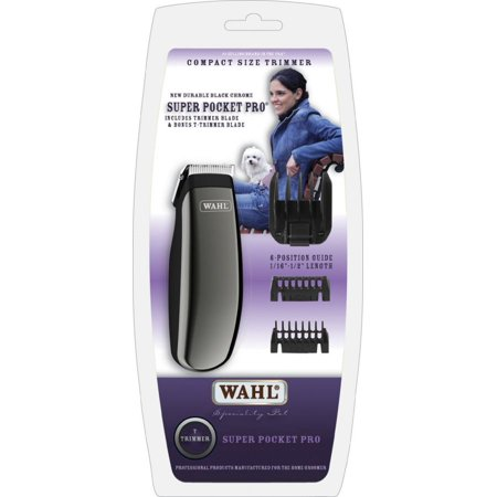 Wahl Super Pocket Pro Pet Trimmer - Battery Powered Super Pocket Pro Trimmer - Pack of 2
