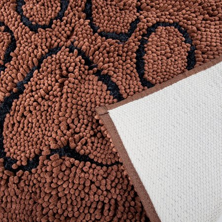 Dog Doormat Super Absorbent Micro Fiber Mat for Dirty Dogs, Cats, Pets - Brown - image 3 of 4
