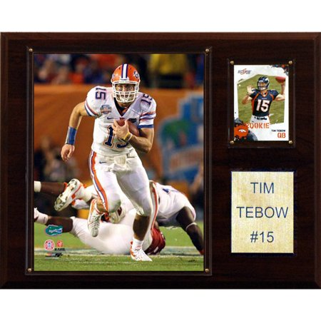 C Collectables Ncaa Football 12X15 Tim Tebow Florida Gators Player Plaque