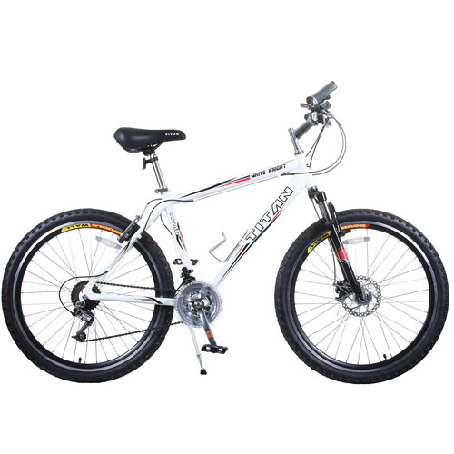 "26"" Titan White Knight Men's All-Terrain Bike"
