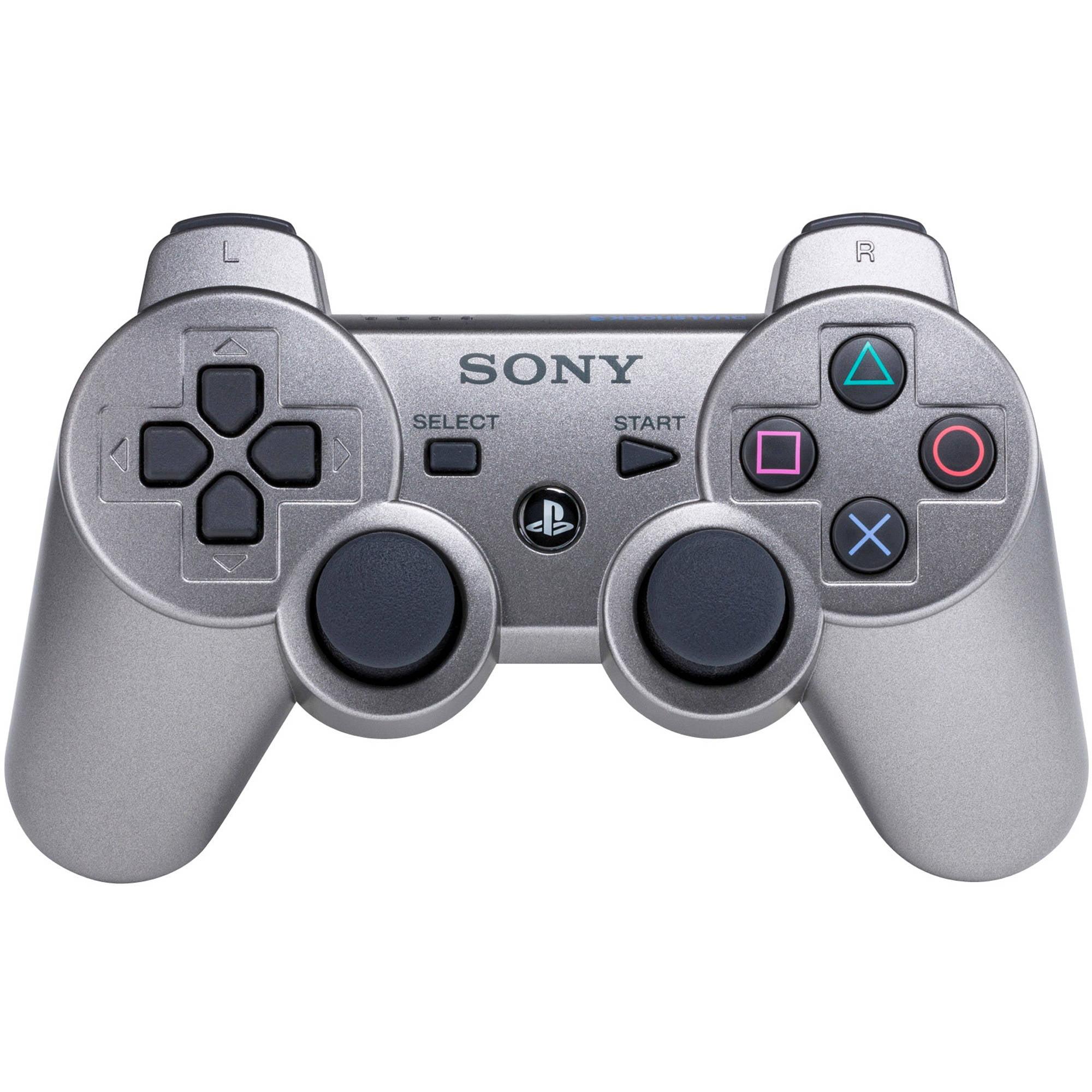 Sony Ps3 Dualshock3 Metallic Gray Controller