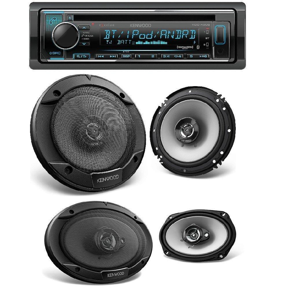 Kenwood Single DIN Bluetooth Car Stereo W/ Spotify