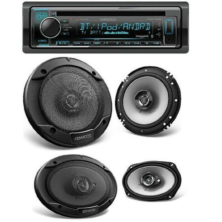 Kenwood Single DIN Bluetooth Car Stereo w/ Spotify & Pandora Control  KFC-1666S 600W Max (60W RMS) 6 5