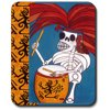 Art Plates Mouse Pad - Danza Day of the Dead Art Plates® brand mouse pads add a special personal touch to any room in your home that has a computer mouse. Art Plates® has turned the boring, plain mouse pad into a work of art.Features include:Made in the USA.Thick, Non-slip rubber backing.Size is 9 1/4 x 7 3/4 x 1/4 thick.Beautiful and colorful high resolution print.Smooth surface works with any type of mouse (optical or ball type).As always, Art Plates® offers free shipping on all orders.All images and descriptions in this offering are exclusive property of Art Plates® or licensed to Art Plates® and are copyrighted© against infringement.Genuine Art Plates® products are packaged in retail packaging.