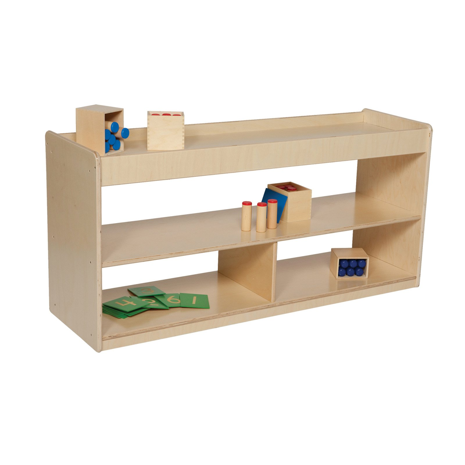 Wood Designs Math/Language Cabinet - 24H in.