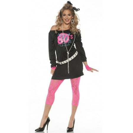 Awesome 80's Adult Costume (Womens 80's Halloween Costume Ideas)