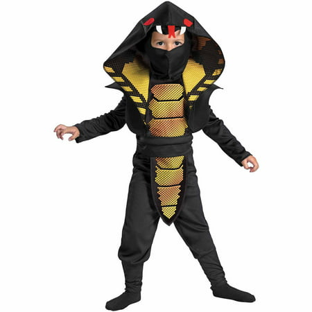 Cobra Ninja Child Halloween Costume](Last Minute Ninja Halloween Costumes)