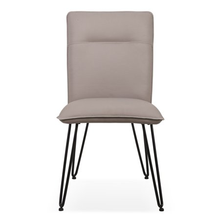 Modus Demi Hairpin Leg Modern Dining Chair Set Of 2