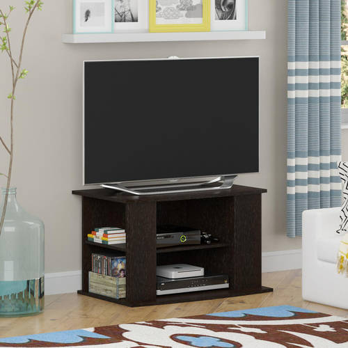 "Mainstays TV Stand with Side Storage for TVs up to 32"", Multiple Colors"