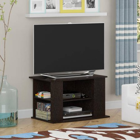 Mainstays Tv Stand With Side Storage For Tvs Up To 32   Multiple Colors