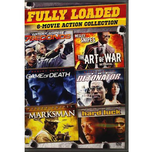 Wesley Snipes: Fully Loaded 6-Movie Action Collection: 7 Seconds / Game Of Death / The Marksman / The Art Of War / The Detonator / Hard Luck (Widescreen)