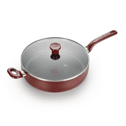 T-fal Easy Care Nonstick Cookware, Jumbo Cooker, 5 quart, Red, B0898264