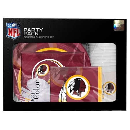 Washington Redskins Gameday Party Pack - No Size - Redskins Party