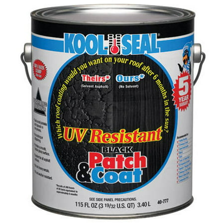 - Kool Seal UV Resistant Black Patch & Coat 1-Gal