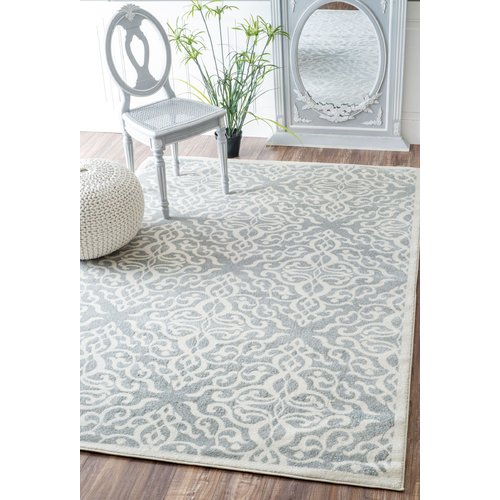 Darby Home Co Shoals Silver Area Rug