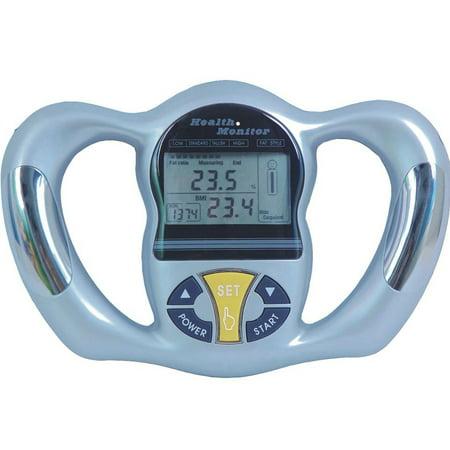 Premium New Portable Body Fat BMI Analyzer Handheld Health Monitor Mass Index Meter