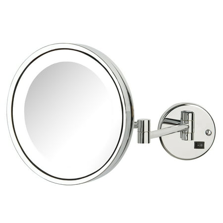 Jerdon Hl1016nl 95 Inch Led Lighted Wall Mount Makeup Mirror With