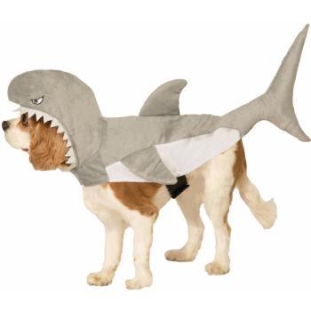 PET COSTUME-SHARK-SMALL