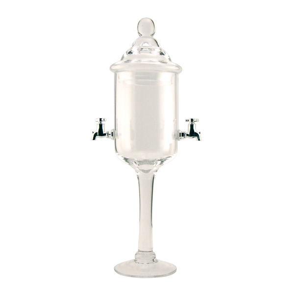 Glass Absinthe Fountain - Two Faucets