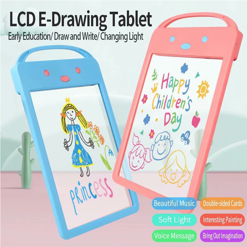 Tinffy LCD Doodle Tablet Early Education Childrens Writing Drawing Board Drawing /& Sketch Pads
