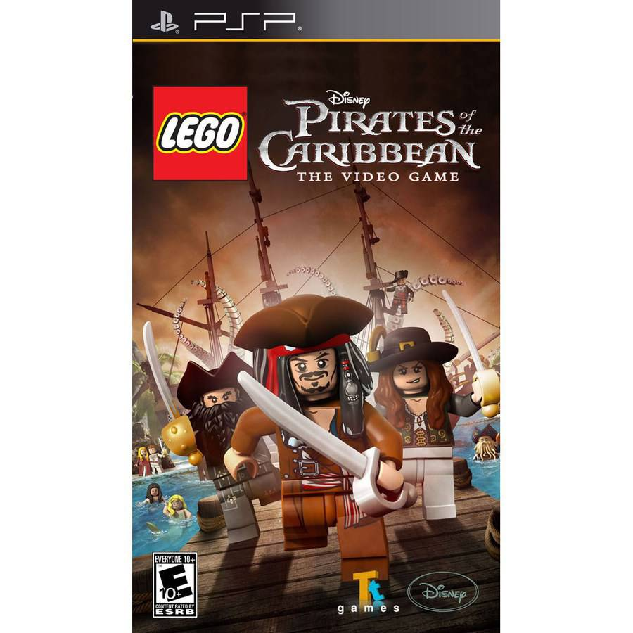 Lego Pirates of the Caribbean (PSP)
