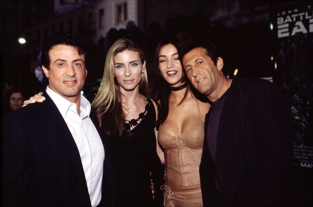 Sylvester Stallone Wife Jennifer Flavin At Premiere Of ...