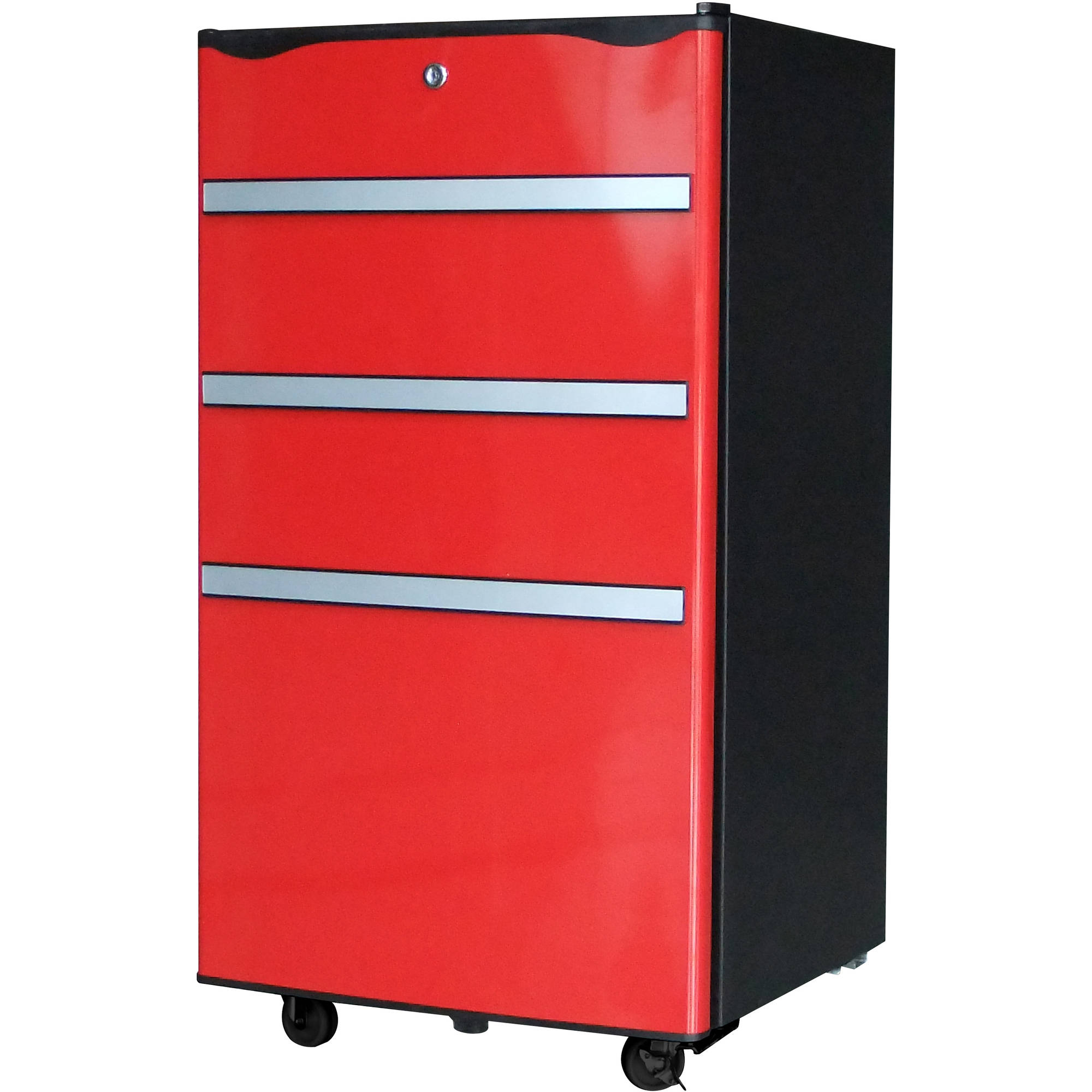 Igloo 3.2 cu ft Garage/Utility Refrigerator, Red