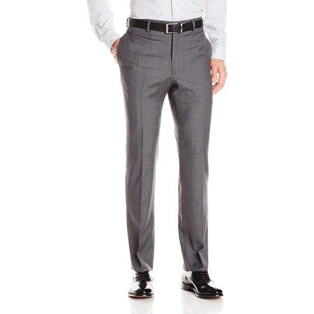 Tommy Hilfiger Mens 34x34 Dress - Flat Front Wool Pants
