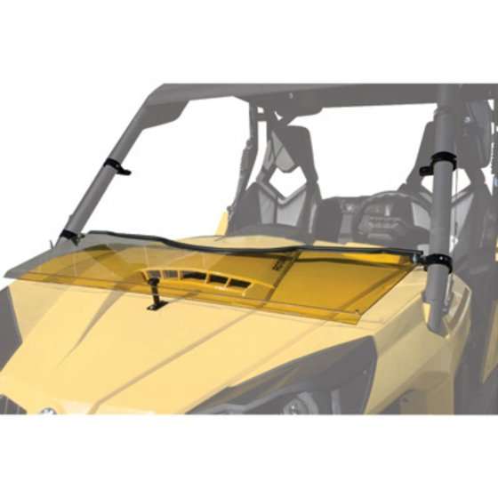 UTV Hinged Windshield +2-inch for Can-Am Commander 1000 XT 2011-2018