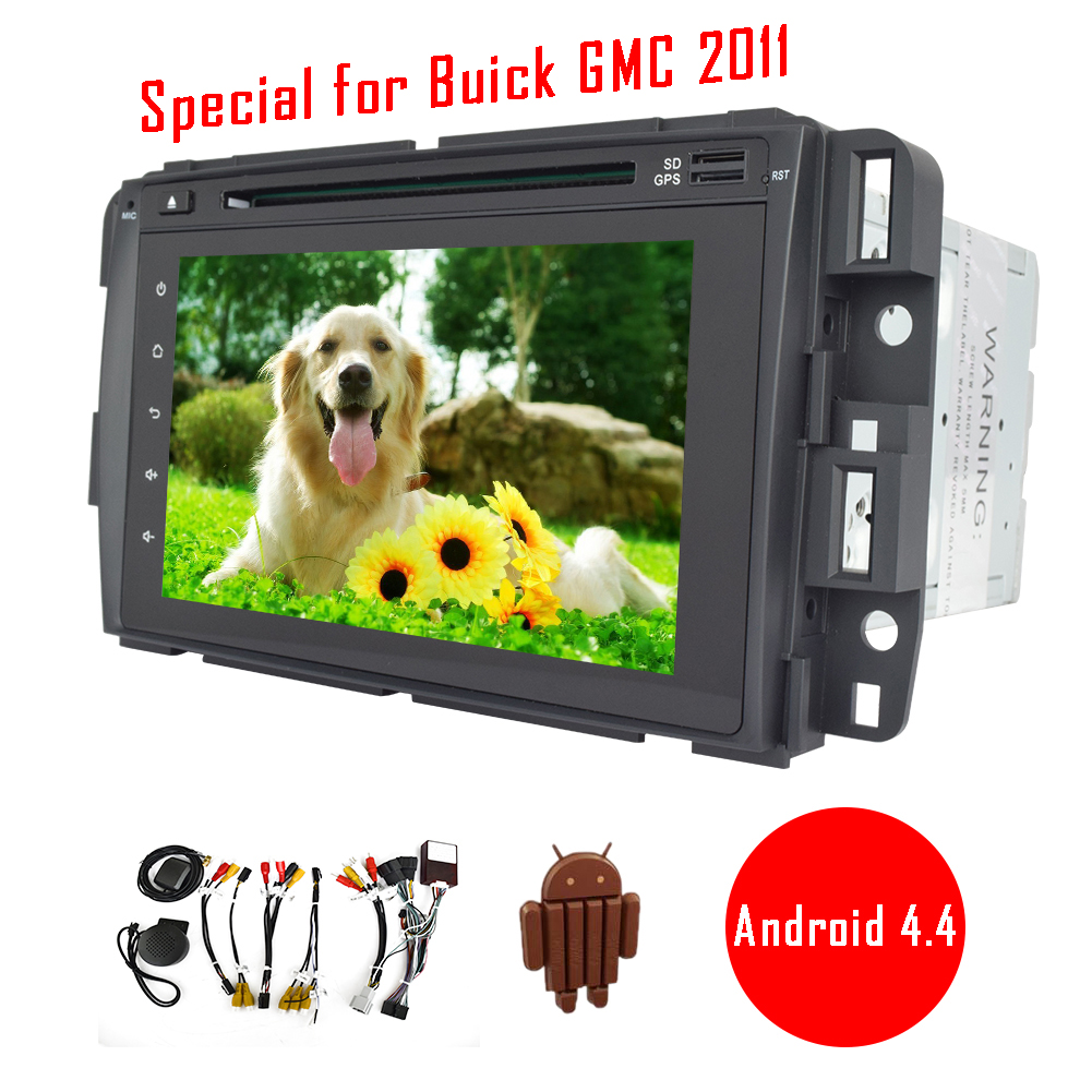 Special for Buick GMC 2011 Android 4.4 car dvd player gps navigation with canbus 1Gram+16Grom support built-in... by EinCar