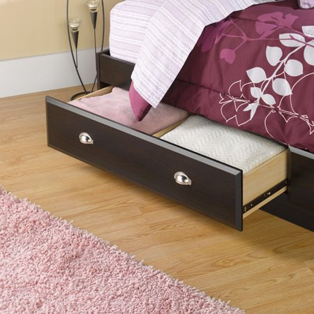 . Sauder Shoal Creek Mates Twin Bed with Storage  Jamocha   Walmart com