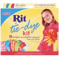 Rit Tie-Dye Kit, Red, Blue, Yellow