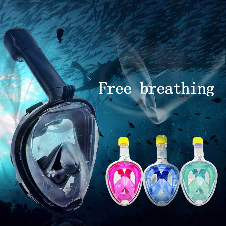PINGFULFILL Full Face Scuba Diving Underwater Diving Mask...