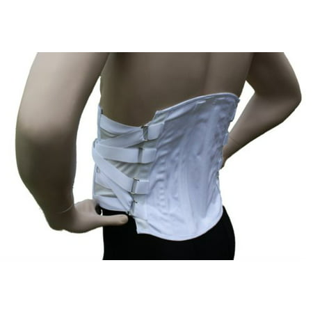 Brace Top (Lumbosacral Corset Back Brace (X-Small))