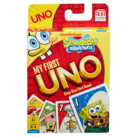 Spongebob Squarepants Halloween Games Nick (my first uno spongebob squarepants card)