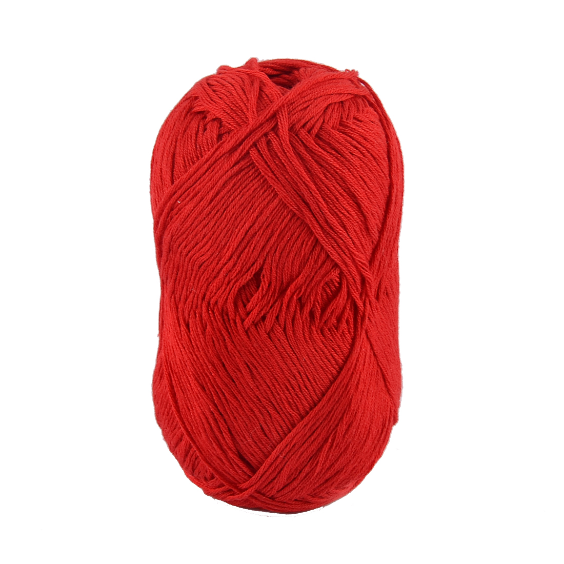 Cotton Hand Knitting Clothes Hat Sweater Crocheting Crochet Thread 50 Gram Red