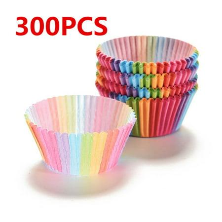 Paper Cupcake Baking Cups (300Pcs Standard Size Cupcake Paper Baking Cup)