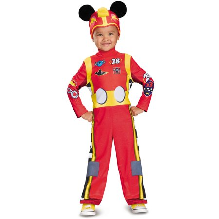 Mickey Mouse Halloween Costume Toddler (Boys Mickey Roadster Classic Toddler)